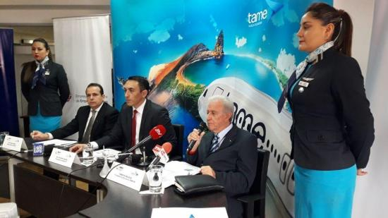 La aerolínea Tame anuncia la venta de bienes fuera de uso