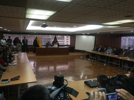 Se reinstaló audiencia para saber si Jorge Glas va o no a juicio por asociación ilícita en el caso Odebrecht