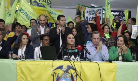 Rivadeneira, Patiño y Soliz suspendidos por 6 meses por el Comité de Ética de PAIS