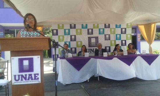 Inauguran el Centro de Apoyo de la Universidad Nacional del Ecuador, UNAE, en San Vicente