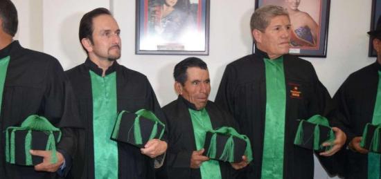 El último hielero del Chimborazo recibió doctorado honoris causa
