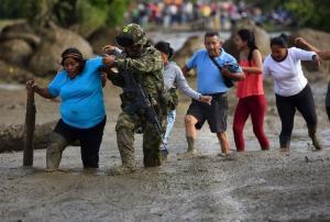 Emergencia por lluvias en nueve regiones de Colombia