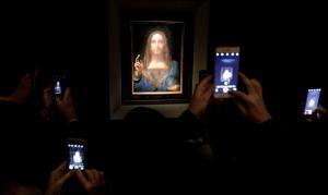'Salvator Mundi', de Leonardo da Vinci, es subastada por 450 millones de dólares, un récord mundial