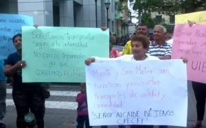 Habitantes de San Mateo piden que buses de la CTM lleguen hasta el centro de la parroquia
