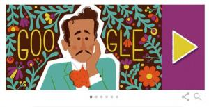 Pedro Infante protagoniza un 'doodle' de Google por su centenario