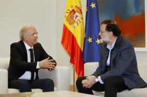 Mariano Rajoy recibe a Antonio Ledezma en España, Venezuela expresa rechazo