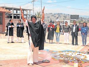 Rufino masaquiza y los rituales salasaka