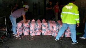 Incautan más de 1 tonelada clorhidrato cocaína procedente de Perú