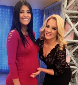 La 'chica reality', Rahab Villacrés, revela que tiene cinco meses de embarazo