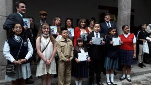 'Platero y yo' inspira a escribir a más de 600 niños de todo Ecuador