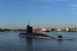Analizan un 'ruido' detectado en el área de búsqueda de submarino argentino