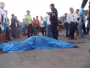 Mujer muere en accidente de tránsito en la vía Portoviejo-Manta