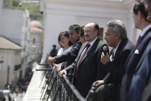 Moreno a Correa: 'Que no se esconda en las fronteras'