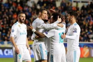El Real Madrid firma su pase a octavos con una goleada balsámica