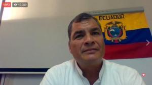 Correa responde al reto de Lenín Moreno sobre su llegada al país