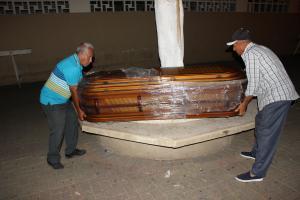 Murió antes del bautizo