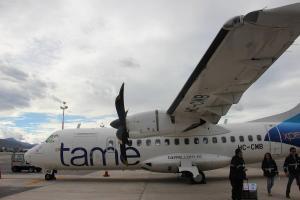 TAME aumenta sus vuelos a Galápagos en busca de rentabilidad