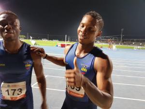 El ecuatoriano Alex Quiñonez impone récord bolivariano en 200 metros