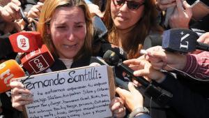 'No van a volver nunca más', dice esposa de tripulante de submarino argentino