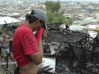 26 afectados por un incendio recibirán bono