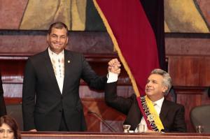 Rafael Correa asegura que el presidente Lenín Moreno será expulsado de Alianza PAIS
