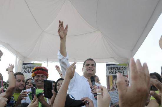 Correa llega este lunes a Manabí