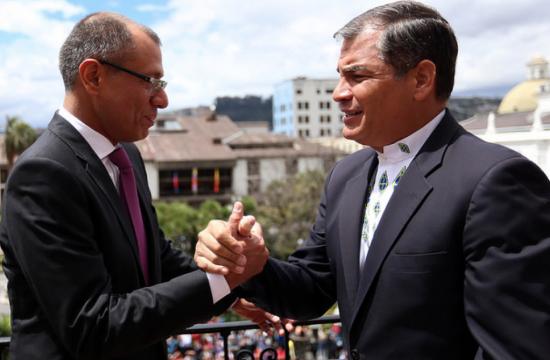 Correa visitará a vicepresidente Glas en la cárcel o en audiencia en la Corte