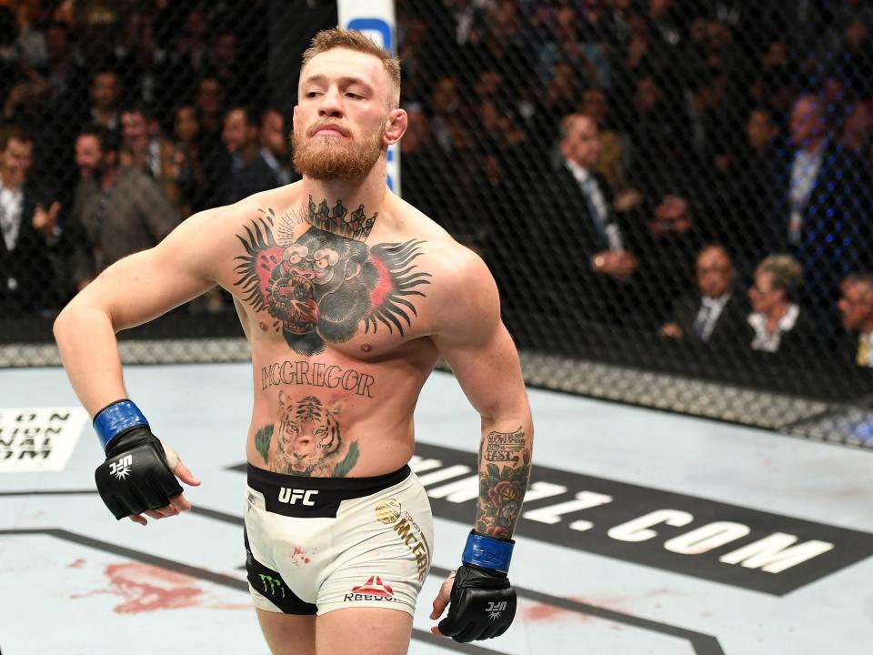 Conor McGregor, multado con 400 euros por exceso de velocidad