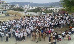 Bahía de Caráquez ensaya con un simulacro de terremoto y tsunami