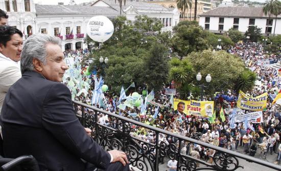 Lenín Moreno sobre Consulta Popular: 'Hoy empieza la construcción del futuro que soñamos'