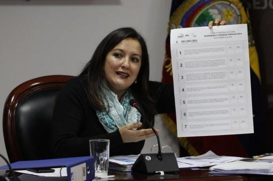 CNE: La Consulta Popular de Ecuador será el 4 de febrero de 2018
