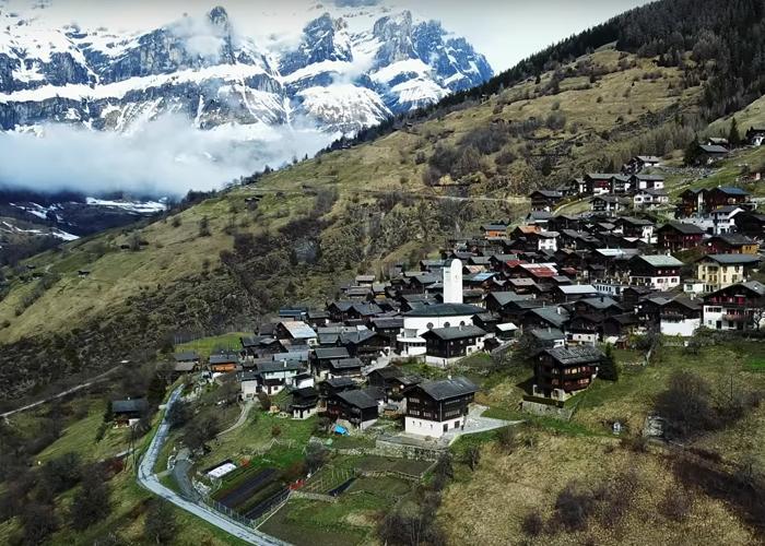 Albinen, el pueblo suizo que paga 21 mil dólares para atraer a nuevos habitantes