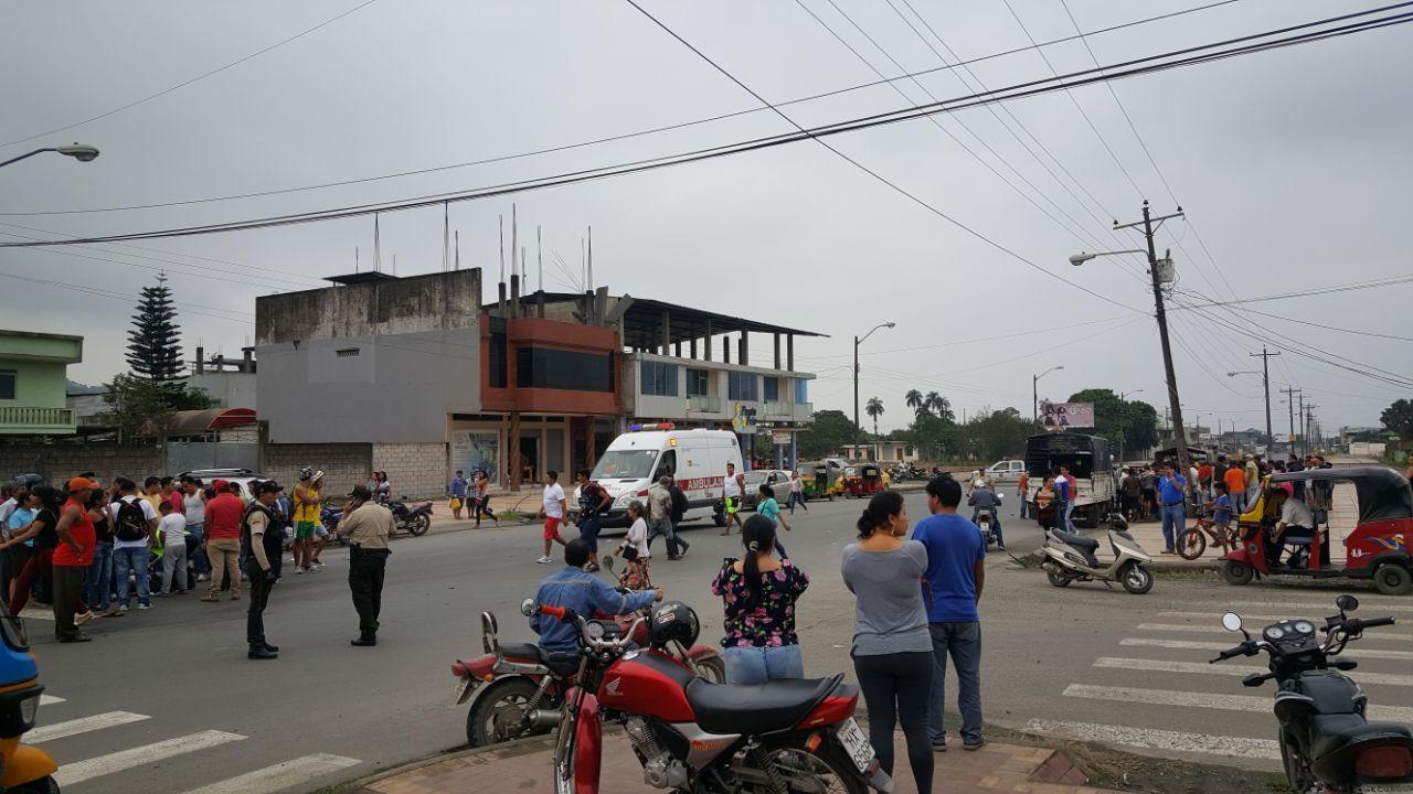 Accidente dejó tres heridos
