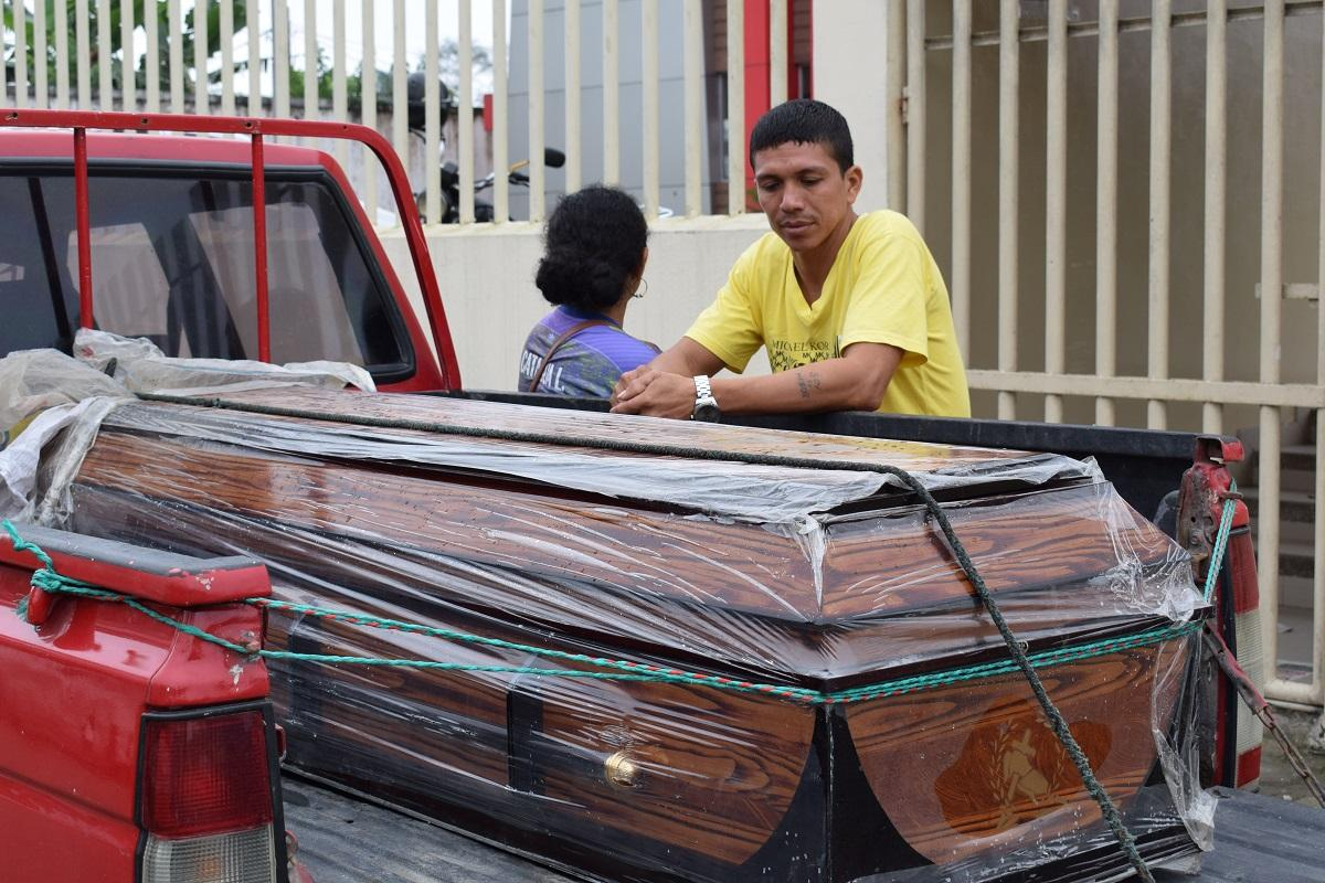 Mantense es hallado muerto en una vía de Santo Domingo
