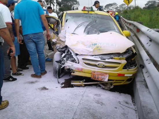 Una mujer y un niño quedan heridos en  accidente de tránsito