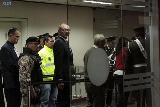 Fiscal General pide pena máxima de 6 años de prisión para Jorge Glas