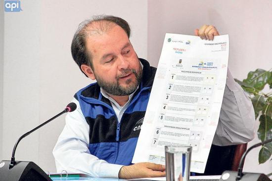 CNE llama a votación por consulta popular