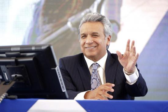 Lenín Moreno cree que la consulta marcará un hito de la democracia en Ecuador