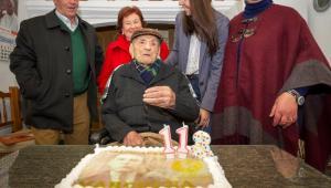 El hombre más longevo del mundo cumple 113 años