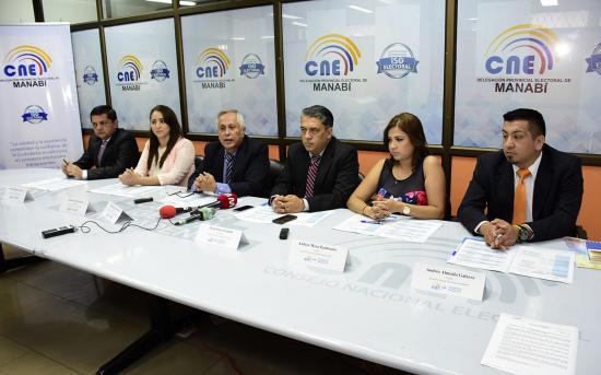 1'214.758 electores van a las urnas en Manabí
