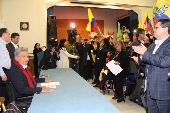 El presidente Lenín Moreno inicia el lunes su primera visita oficial a España