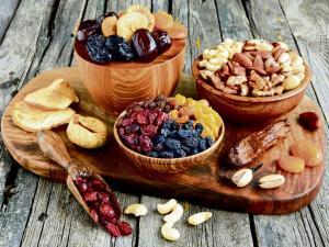 Frutos secos, frutos mágicos