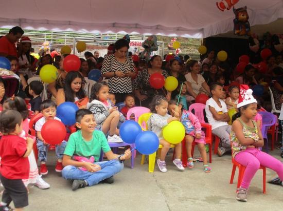 Los niños de los CIBV festejaron