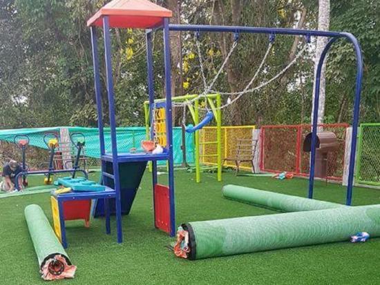 Mañana estrenan el nuevo parque infantil