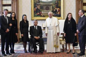 El papa y Lenin Moreno hablaron del Amazonas en su primer encuentro en el Vaticano