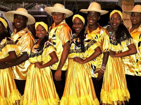 Arte, música  y danza afro
