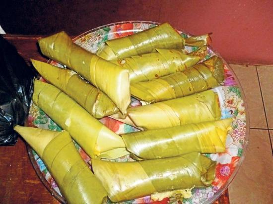 Chiviles, comida de los cañaris