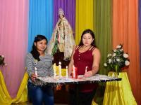 Se encomiendan a Santa Lucía
