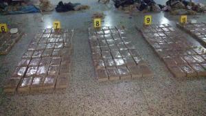 Incautan 1,1 toneladas de cocaína y capturan a colombianos y ecuatorianos