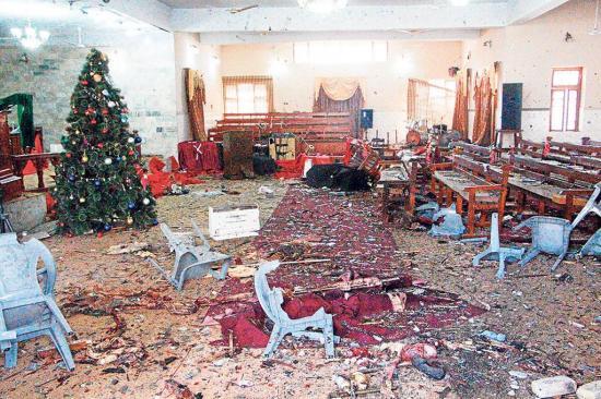 La Navidad se tiñe de sangre tras un ataque terrorista en una iglesia